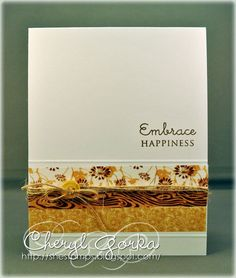 Washi Notecards by elizgmom - Cards and Paper Crafts at Splitcoaststampers