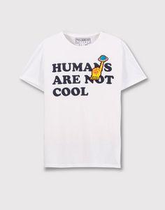 Pull&Bear - hombre - novedades - camiseta parches manga corta - blanco - 05244530-V2016