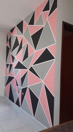Cute Bedroom Decor, Bedroom Wall Designs, Bedroom Decor For Teen Girls, Cute Bedroom Ideas, Room Design Bedroom, Teen Room Decor, Room Ideas Bedroom, Wall Paint Patterns, Beauty Room Decor