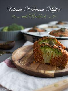LeckerBox #127: Polenta-Kurkuma-Muffins mit Brokkoli *vegan *glutenfrei