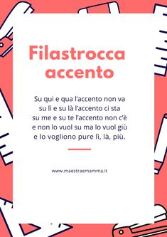 School Slogans, Italian Lessons, Coding For Kids, Language Study, Italian Language, Learning Italian, School Life, Home Schooling, English Grammar