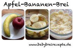 Apfel-Bananen-Brei Rezept zum Selbermachen - Babybreirezepte zum Selberkochen.