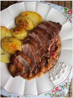 food4fun - Kačka a čatní Pork, Foods, Meat, Recipes, Pork Roulade, Food Food, Food Items, Pigs, Recipies