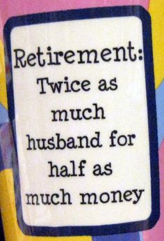 ... et l'inverse, dirait mon mari!