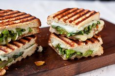 Goat Cheese and Asparagus Grilled Cheese by foodiebride, via Flickr