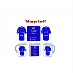 Picture Mug can be Personalised (Keep Calm & Support Everton) on eBid United Kingdom