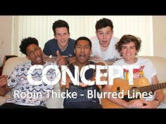 Robin Thicke - Blurred Lines | #ConceptCoverThursday