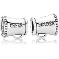 205819f47 ... Pandora Cheerleader Megaphone Silver Charm 791125 for sale at Beadazzle  ...