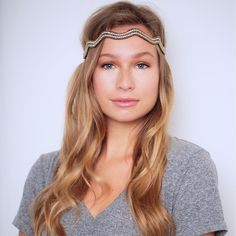 Oxford Headband #hairbands Every TASSEL Headband is carefully crafted using delicate seed beads, rhinestone chains and jewels, all strung and set using a tambour technique that is completely done by hand. Each band is backed with genuine leather and has an adjustable strap that is finished with a signature TASSEL charm.