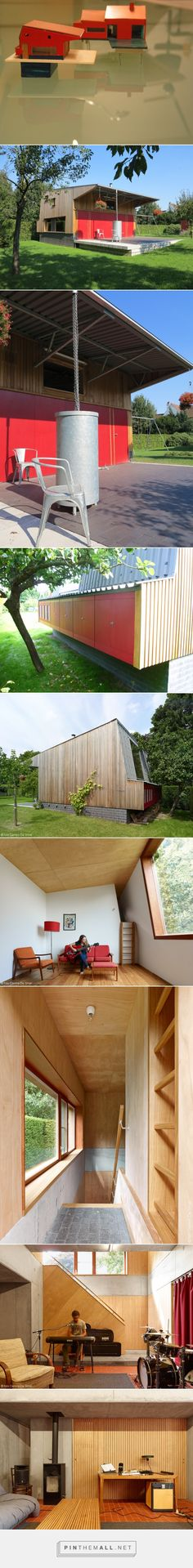 Tuin'uis | DeSmetVermeulen http://humble-homes.com/guest-house-combines-chicken-coop-tool-shed-music-room/ - created via http://pinthemall.net