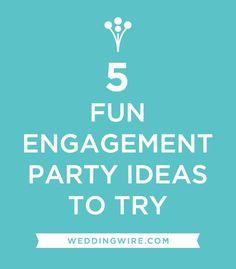Fun #EngagementParty Ideas!