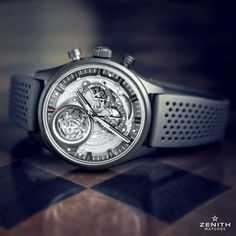The Zenith El Primero Tourbillon Skeleton Intense Black Will Keep The Light Away