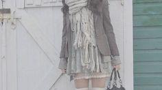 Me gusta este traje para el invierno