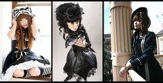 Gothic Style - Menjadikan warna hitam sebagai warna utama http://www.sanggayahidup.com/gothic-style/
