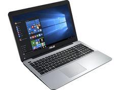 """ASUS Laptop X Series X555DA-WS11 AMD A10-Series A10-8700P (1.80 GHz) 8 GB Memory 1 TB HDD AMD Radeon R6 Series 15.6"""" Windows 10 Home 64-Bit"""