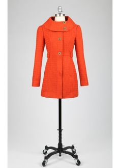 Uptown Ember Coat, Too cute would pair well with a pair of brown riding pants.