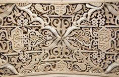 Moorish stucco pattern