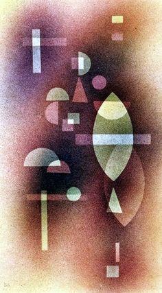 The Athenaeum - Durchsicht (Wassily Kandinsky - ) Kandinsky Art, Wassily Kandinsky Paintings, Abstract Words, Abstract Art, Modern Art, Contemporary Art, Cubism Art, Art Moderne, Matisse
