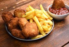 Házi chicken nuggets bbq szósszal Chicken Nuggets, Venison, Poultry, Lamb, Chicken Recipes, Bbq, Pork, Turkey, Meals