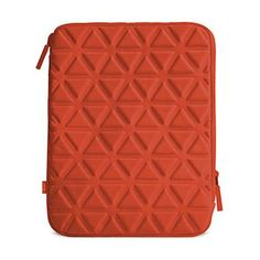 Belgique Foam-padded sleeve for iPad mini - Red