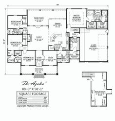 Attractive Madden Home Design   Acadian House Plans, French Country House Plans