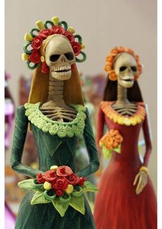 November 1 The first day of Day of the Dead or El Dia de los Muertos celebration.