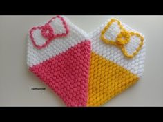 Baby Knitting Patterns, Crochet Patterns, Youtube, Baby Shoes, Crochet Hats, Kids, Crafts, Accessories, Pot Holders