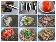Sommige Turkse gerechten hebben hele typische namen - vrouwennavels, de imam viel flauw (nee, geen causaal verbandje...) en dit is er ook éé...