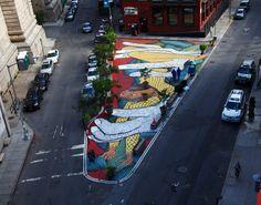 wow... thats 'STREET' ART - by David Ellis (photo © Jaime Rojo)