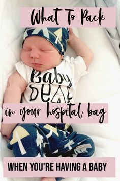 Look no further, you've found the hospital bag checklist for moms to be that you've been waiting for. I've included what to pack in your hospital bag for dad, baby and for the new moms hospital bag. Click through to find out exactly what to pack and download the Free Printable Hospital Bag Checklist.