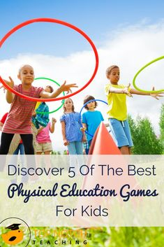 Are you after some more fun physical education games that you can use with your kindergarten or second-grade students? physical education games are so much Physical Education Activities, Physical Activities For Preschoolers, Elementary Physical Education, Elementary Pe, Health And Physical Education, Preschool Games, Kids Education, Kindergarten Lesson Plans, Classroom Games