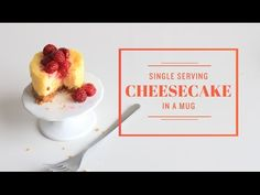 No Bake Microwave Single Serving Cheesecake (Made in a Mug!)