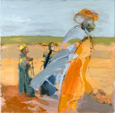 Jacquie Gulliver Thompson, artiste peintre, art abstrait, grande bretagne