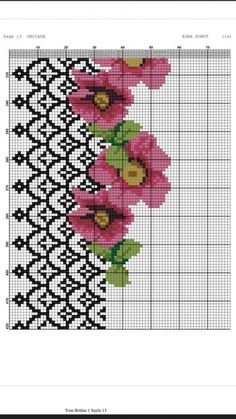 1 million+ Stunning Free Images to Use Anywhere Cross Stitch Borders, Cross Stitch Flowers, Cross Stitch Designs, Cross Stitching, Cross Stitch Embroidery, Cross Stitch Patterns, Vintage Embroidery, Embroidery Patterns, Cupcake Cross Stitch