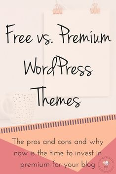 Free vs Premium WordPress Theme