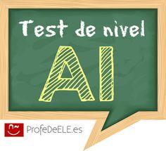 Test de nivel A1 en español:  bit.ly/test-a1-spanish | Más materiales en www.profedeele.es