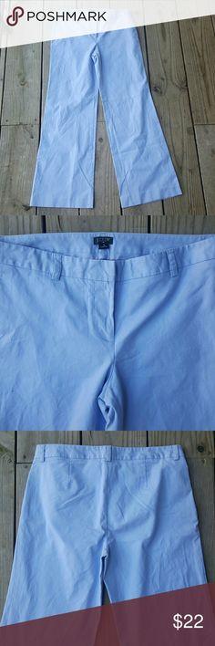 J. Crew low fit pants NWOT Cotton/spandex J. Crew Pants Wide Leg