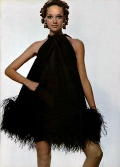 Marisa Berenson, 1969 - Pierre Cardin L'Officiel magazine