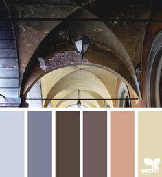 italian tones, by design seeds Colour Pallette, Colour Schemes, Color Combos, Italian Colors, Beautiful Color Combinations, Design Seeds, Color Swatches, Paint Swatches, World Of Color