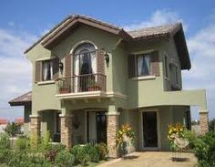 have a home sweet house Two Story House Design, Lots For Sale, Two Story Homes, International School, Cebu, Model Homes, Future House, Beautiful Homes, House Plans