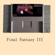 >> Click to Buy << Final Fantasy III 46 Pin 16 Bit Grey Game Card For USA NTSC Game Player #Affiliate