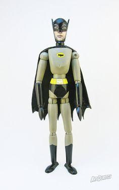 Batman Adam West Art Doll  Sculpture  Articulated by ArtDuritos