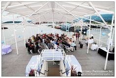 our oceanfront venue Celebration on Water, boat wedding, Vancouver, BC,