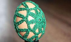 Háčkované vajíčko LILI - NÁVODY NA HÁČKOVANIE Haha, Easter Activities
