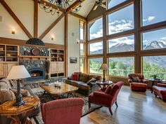 Leavenworth Vacation Rental - VRBO 3166135ha - 3 BR North Central Cascades Lodge in WA, Enchantment Lodge - Spectacular Timber Lodge - 5 Star in Leavenworth