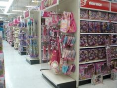 Pink and Blue... er, Red at Toys 'R Us (click thru for analysis)