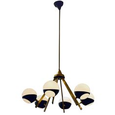 Stilnovo Orbital Six Arm Chandelier #1stidibs Keep clicking to see more of the most unique and refined lights on the market