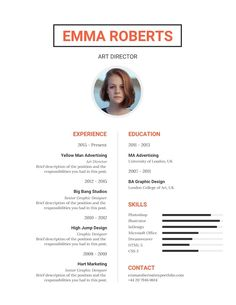 Modelo Curriculum & Resume - Infographic Resume Templates and Design Tips to Help You Land That Job // Make A Simple Resume That's Classic And Features Important Details With This Traditional Resume Template Infographic Resume Template, Business Resume Template, Resume Templates, How To Make Resume, Create A Resume, Modelo Curriculum, No Experience Jobs, Simple Resume, Resume Design