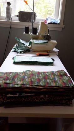 Time to get sewing. #coolingties #coolingpads #handmade #madeincanada