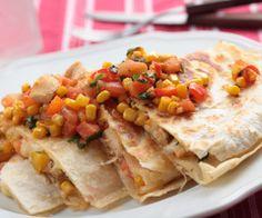 Easy & Quick Chicken Quesadillas